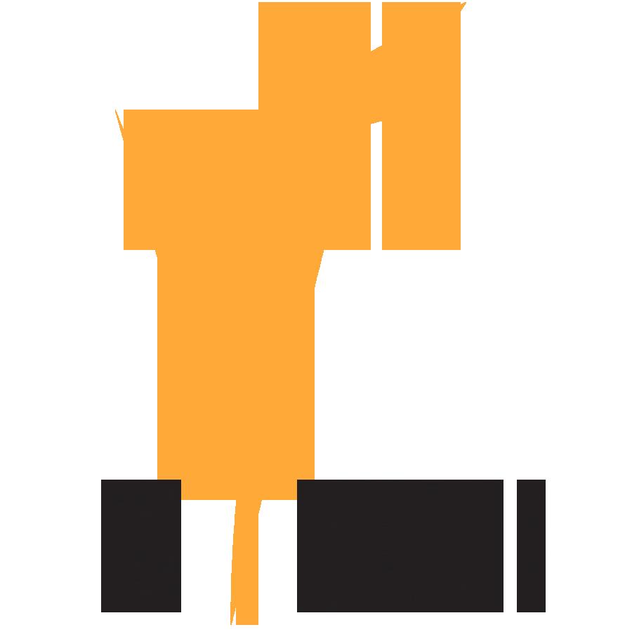 RokFit, Inc. - RF Logo Sticker