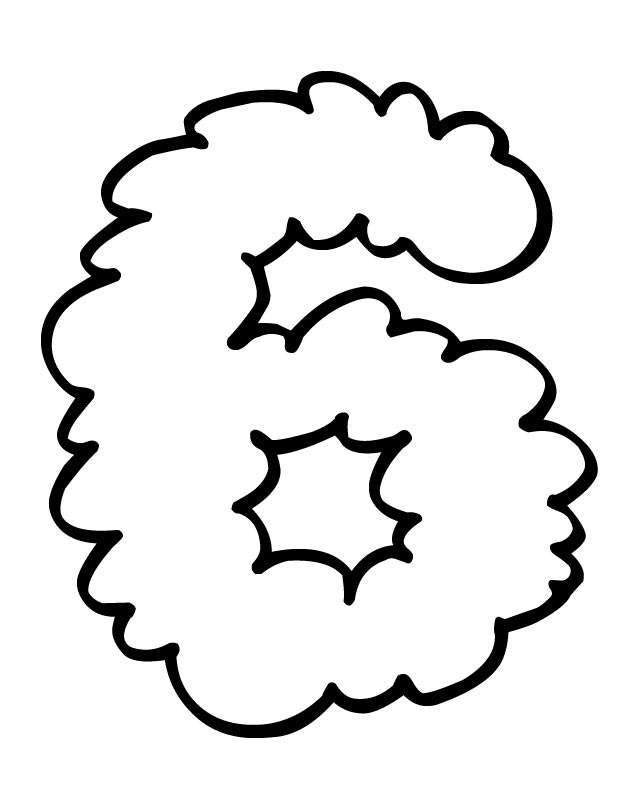 types of clouds coloring pages - photo#30