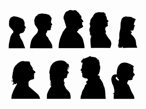 Outline Of People Clip Art - Cliparts.co
