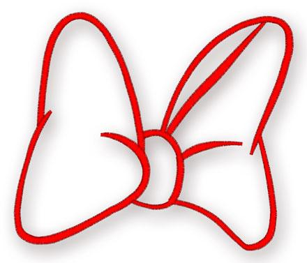 Bows coloring pages free printable bows coloring pages - Free Minnie Mouse Bow Template Cliparts Co