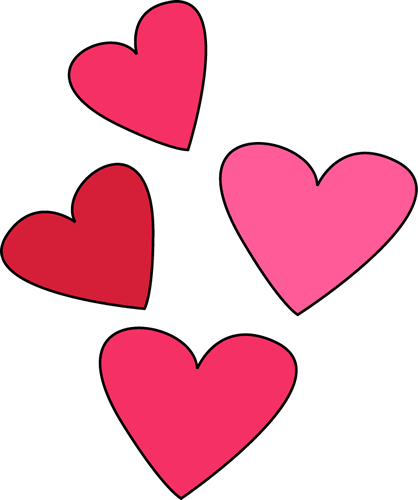 Valentine's Day Hearts Clip Art - Valentine's Day Hearts Image