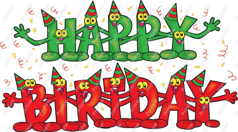 Free Happy Birthday Pictures - Cliparts.co