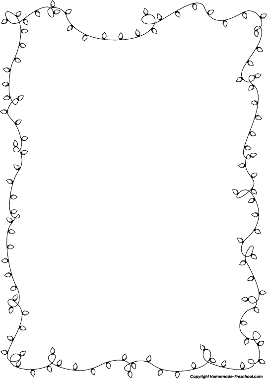 Free printable christmas light coloring page - Don T Forget To Link To This Page For Attribution