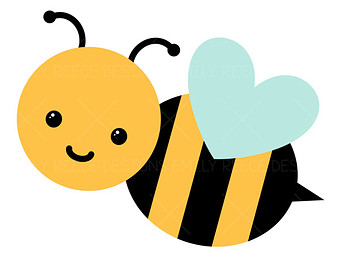 clipart cute bee-#38