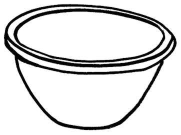 plastic bowl clipart rh worldartsme com fish bowl clipart bowl clip art black and white