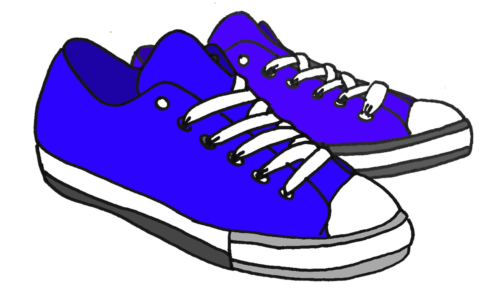 Cartoon Shoes Clipart