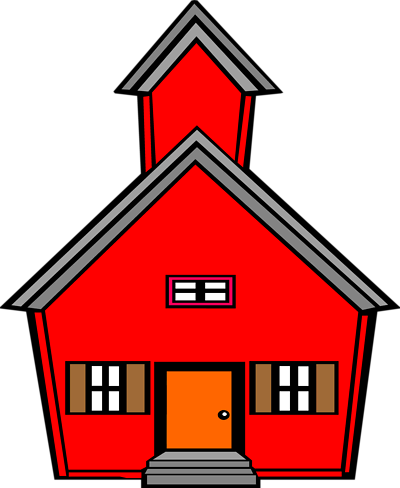 Pix For > Red School House Clip Art - Cliparts.co
