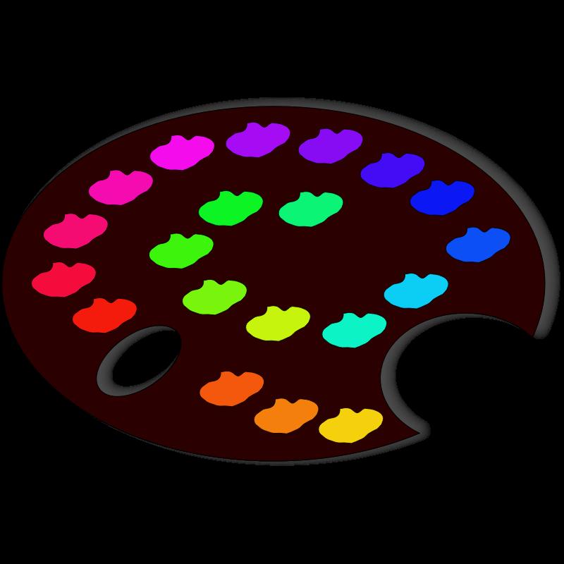 Paint Palette Clip Art - Cliparts.co