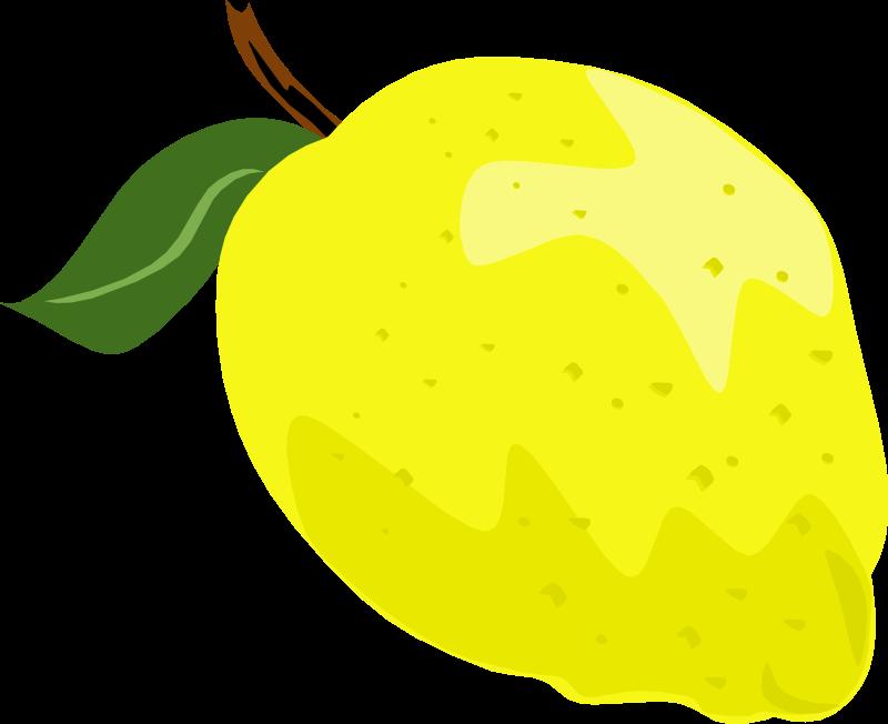 free clip art lemon slice - photo #35