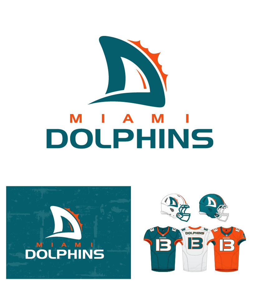Miami Dolphins New Logo: Top Design Possibilities For The Team's ...