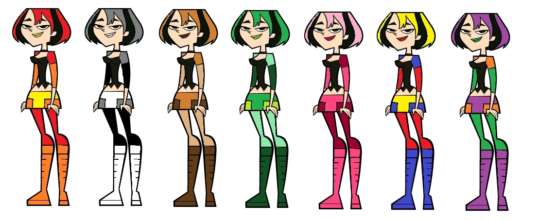 Free Total Drama Coloring Pages, Download Free Clip Art, Free Clip ... | 455x1109