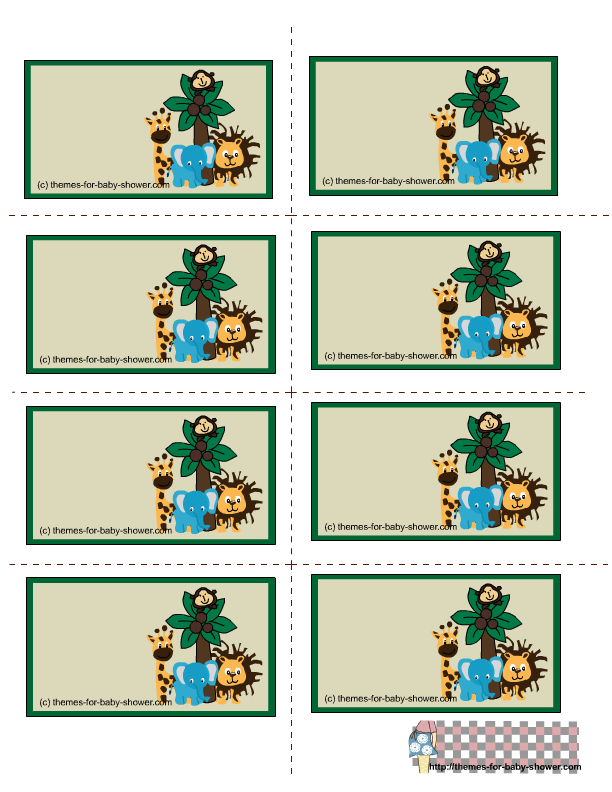 Baby Shower Border - Cliparts.co