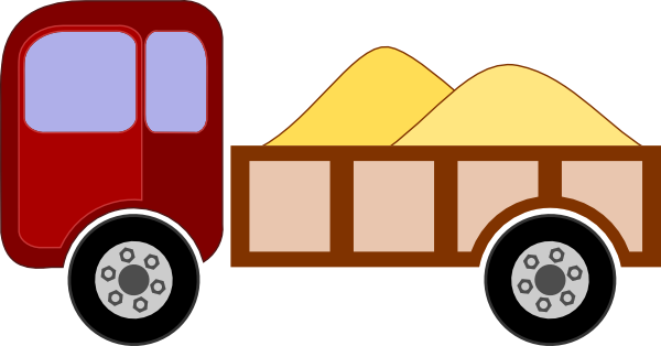 Pick Up Truck clip art - vector clip art online, royalty free ...