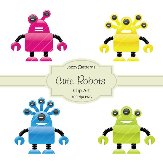 Robot Clipart Free Cliparts Co