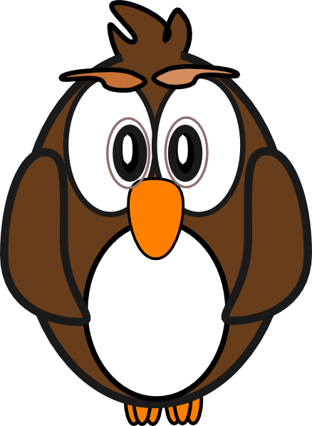 Cartoon Owl clip art - vector clip art online, royalty free ...