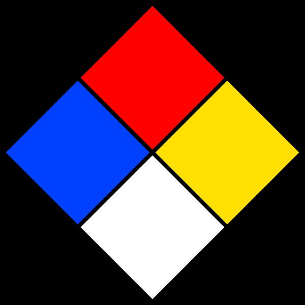 Nfpa Diamond Template - Cliparts.co