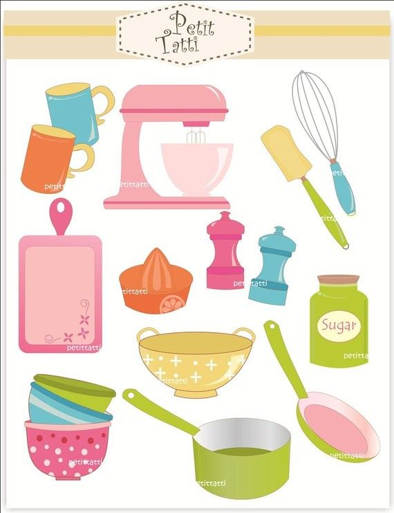 ... clip art.cooking utensil, kitchen equipment, cooking class, i