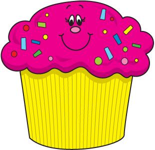 Clipart De Cupcake : Birthday Cupcake Clipart - Cliparts.co