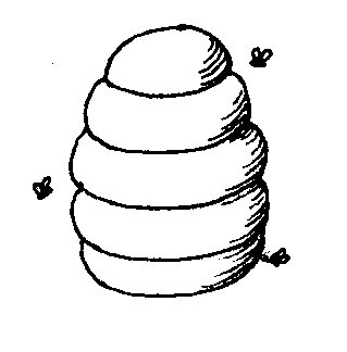Beehive Drawing - ClipArt Best