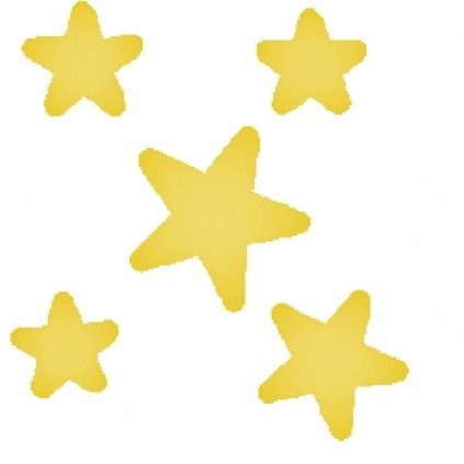 Stars and Clip Vector