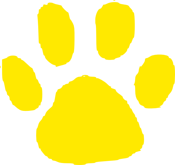bobcat paw print cliparts co Bobcat Paw Print Outline Bobcat Paw Print Borders