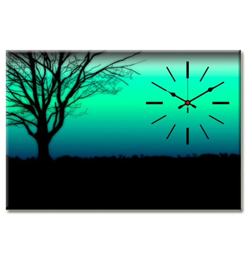 Design O Vista Single Panel Framed Scenery Painting With Wall ...
