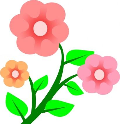 Flower vine clip art Free Flower Vine Clipart