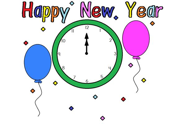 New Years Clipart Border | Clipart Panda - Free Clipart Images