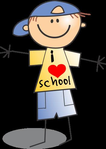 Free School Boy Clip Art