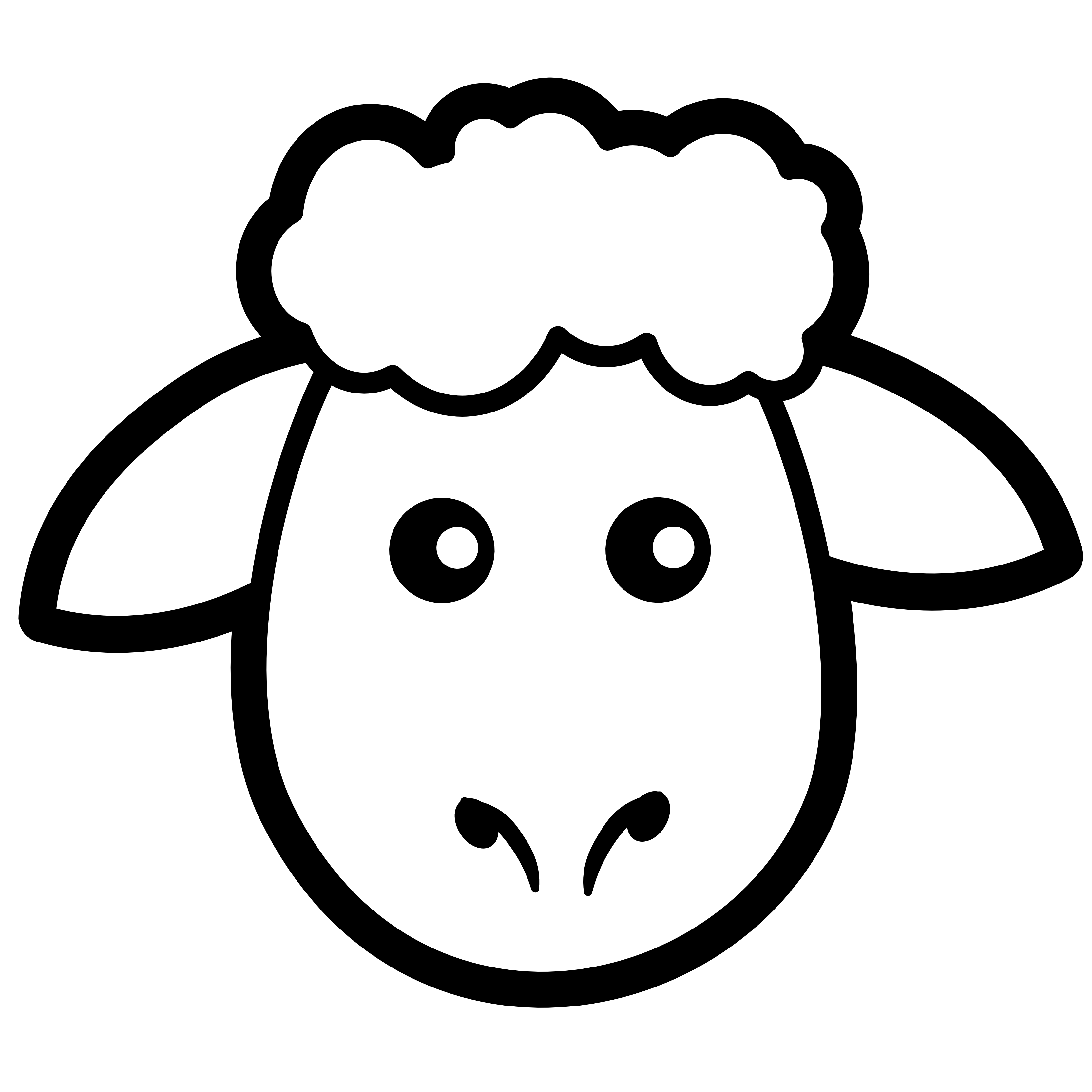 Line Drawing Images Of Sheep : Clip art sheep cliparts