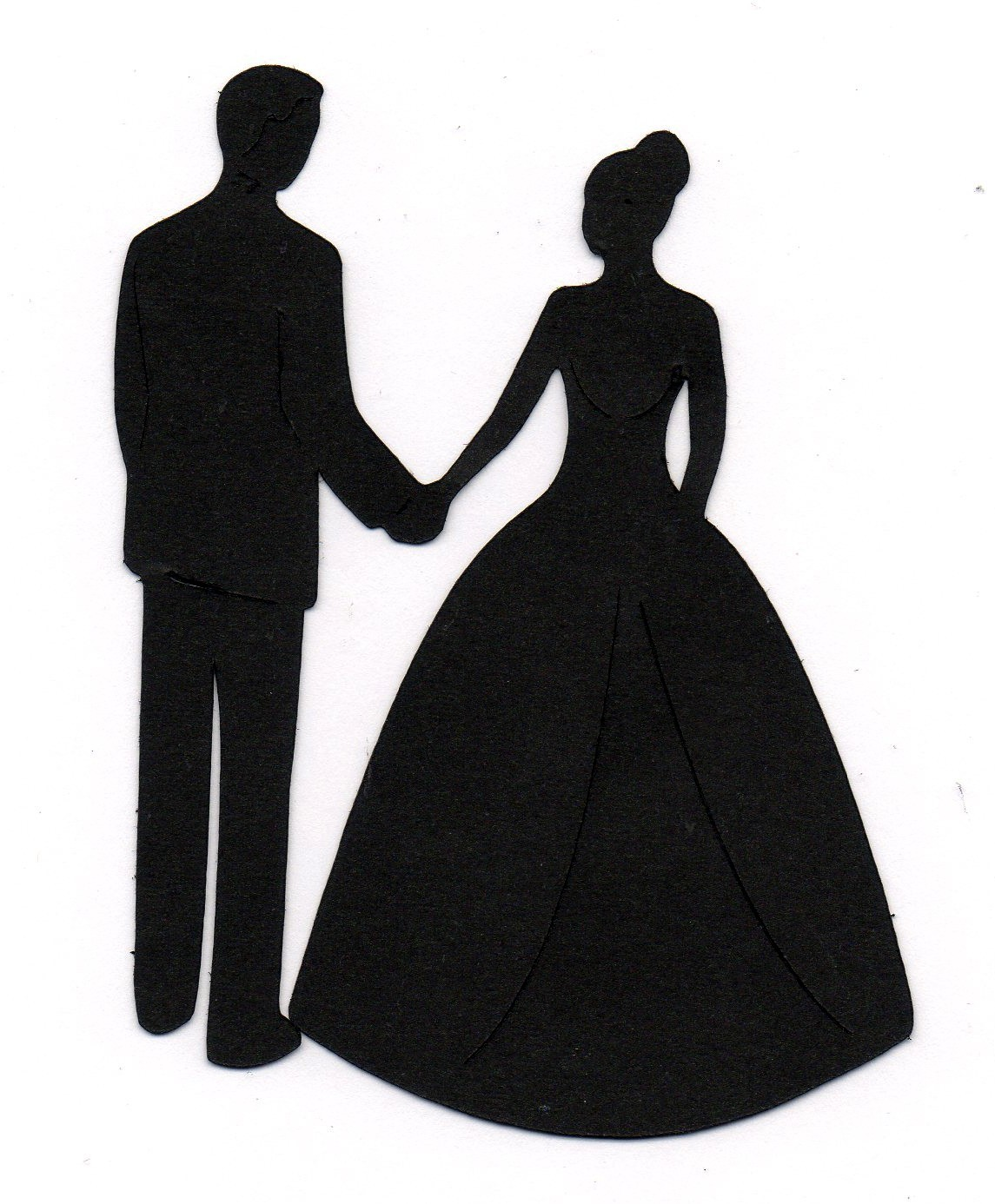Wedding Party Silhouette Clip Art - Cliparts.co