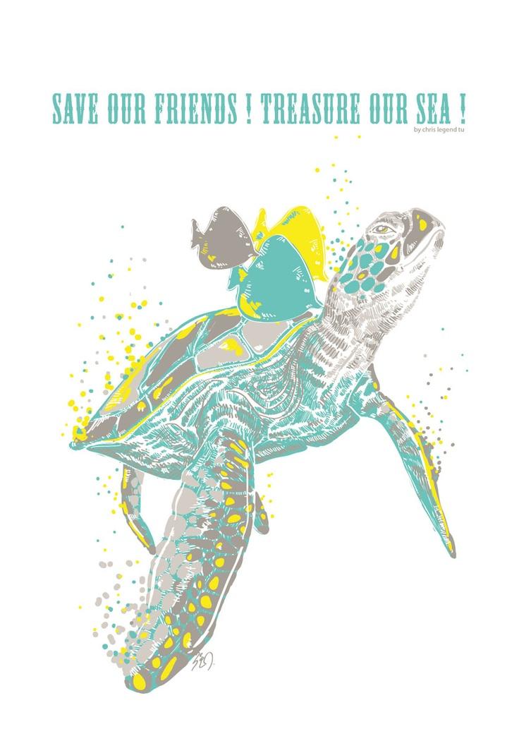 sea turtle illustration clipartsco