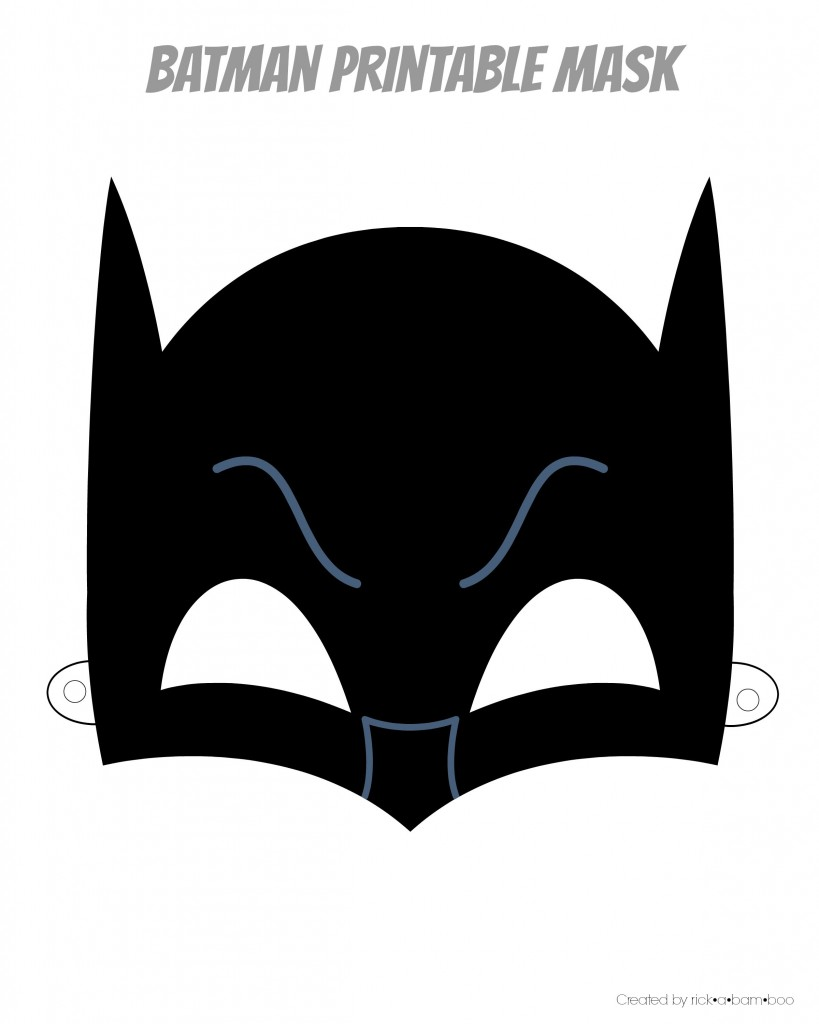 Remarkable image within printable batman mask template