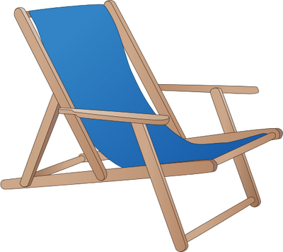 Beach Chair Cartoon