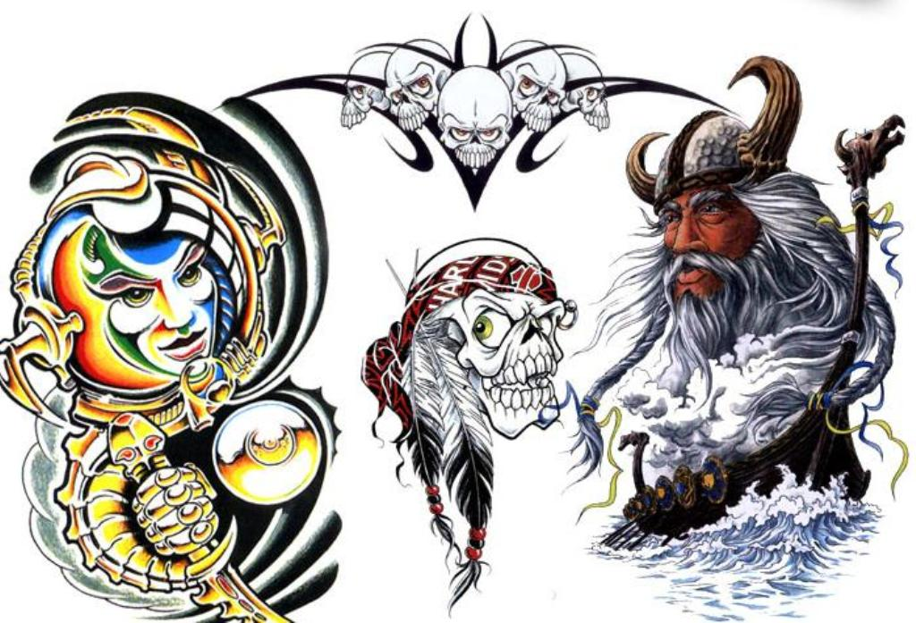 Artistic Tattoo Designs - Cliparts.co