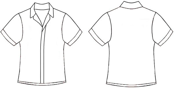 Shirt Template Cliparts Co