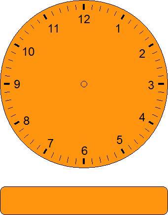 blank analog clock clip art - photo #25