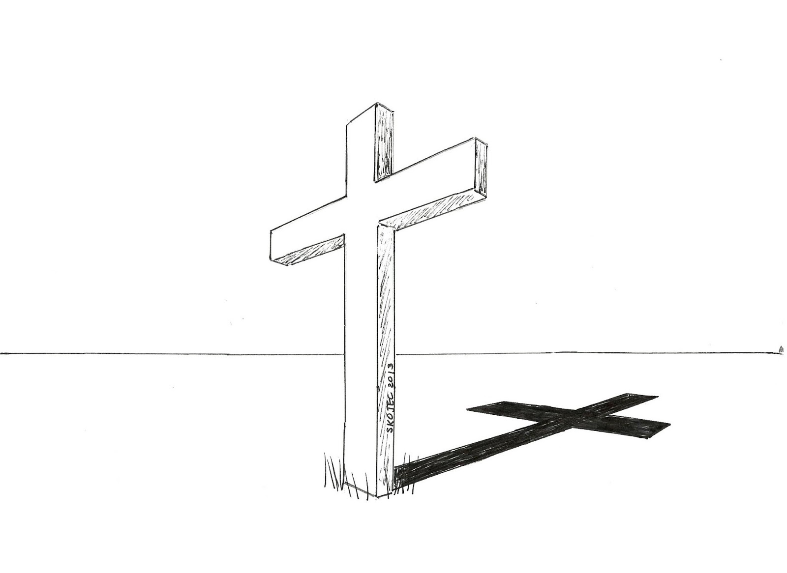 How to draw cool crosses for Cool drawing designs step by step