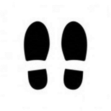 Shoe Prints Walking - Cliparts.co