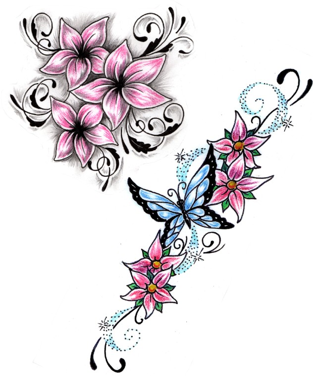 deviantART: More Like Flower Tattoo designs by Shadow3217