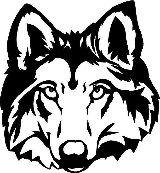 Predator Hunter Coyote Wolf Decal Truck Back Glass Window ...