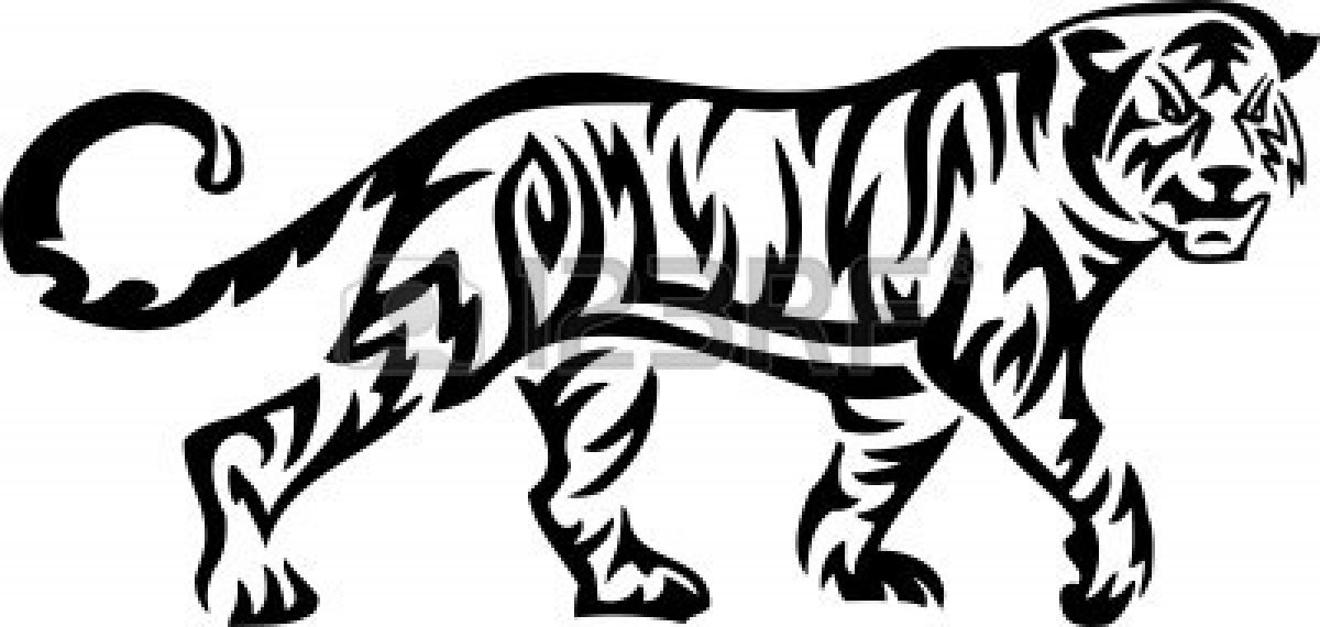 Bengal Tiger Clip Art Clipartsco