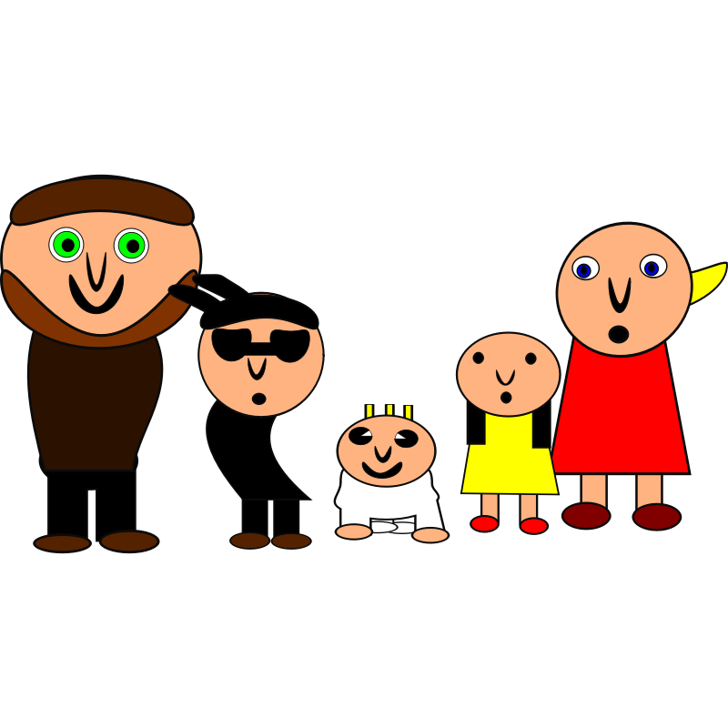 Clipart - the family