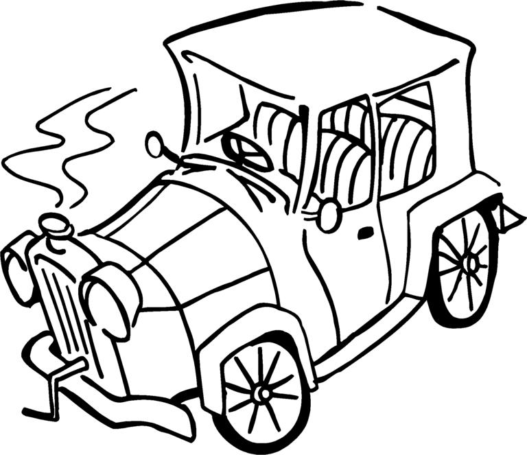 Broken Down Car Clip Art