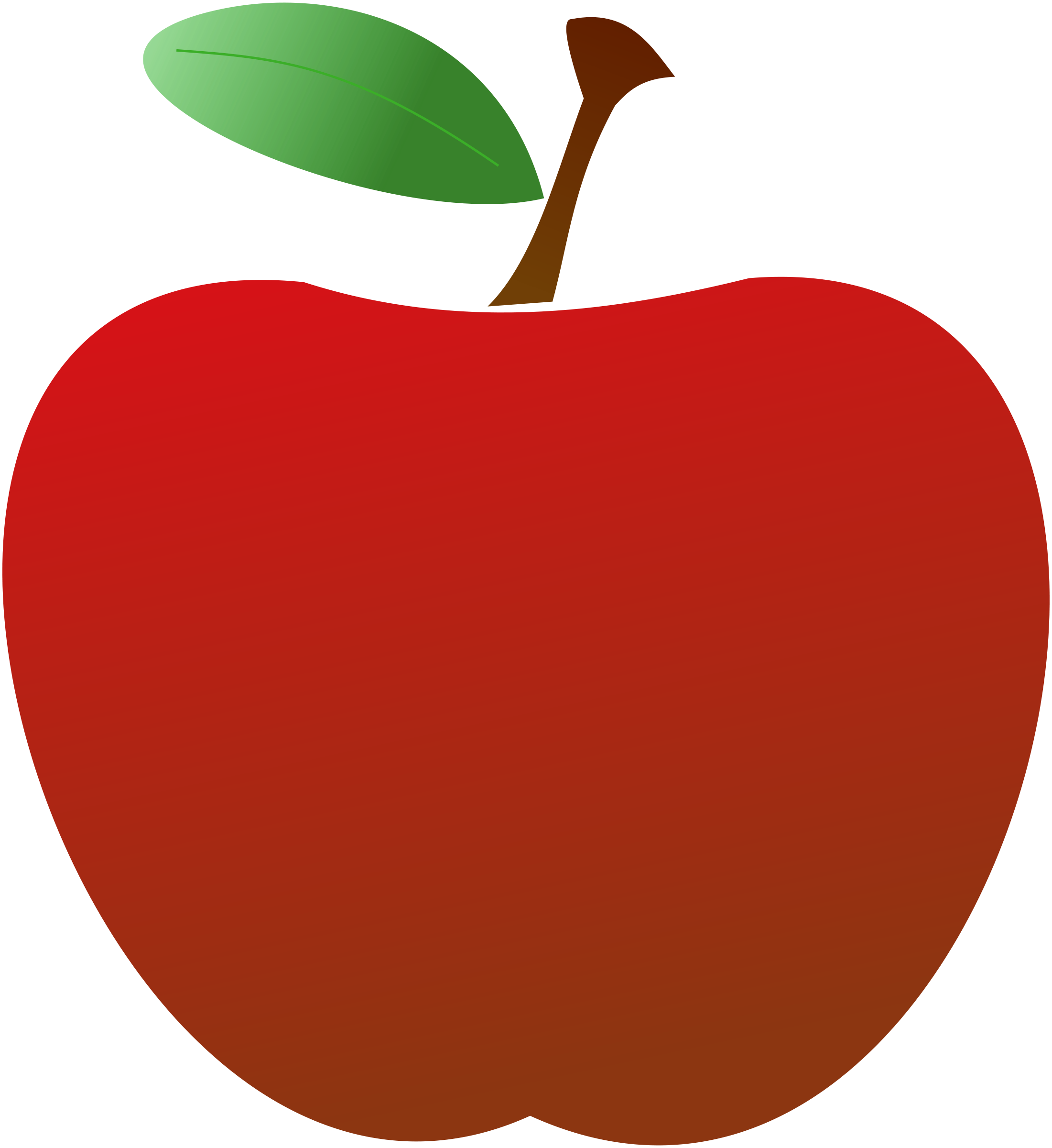 Red Apple Clipart - Cliparts.co