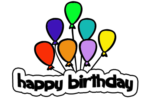 Images Of Cartoon Birthday Balloons - ClipArt Best