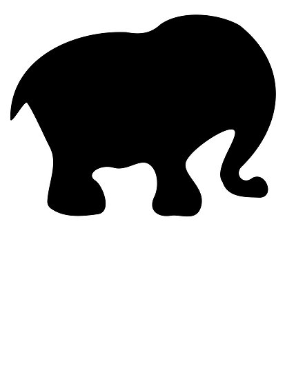 Baby Elephant Outline - ClipArt Best - Cliparts.co