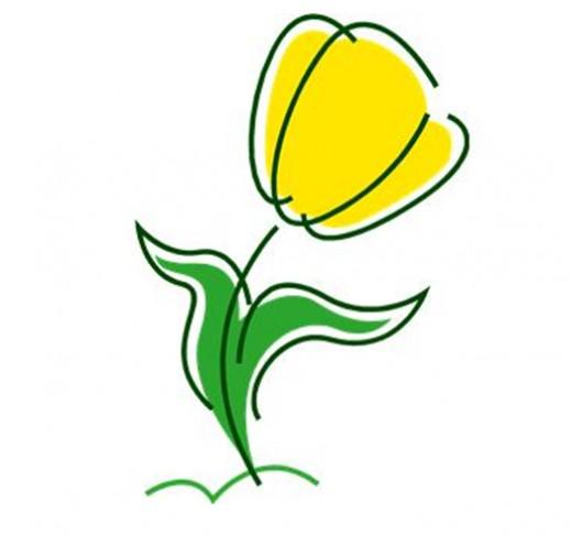 free clipart tulip flower - photo #47