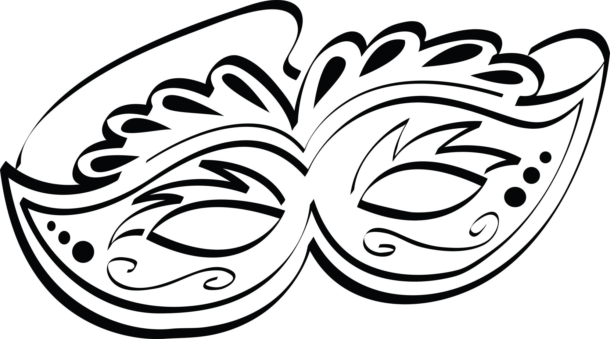 mardi gras masks pics cliparts co