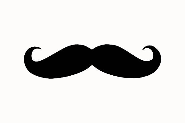Handlebar Mustache Clip Art - Cliparts.co